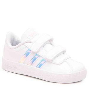 Adidas VL Court 2.0 Tennis Sneaker Shoes
